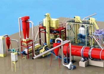 3-6T/H Straw Pellet Production Line